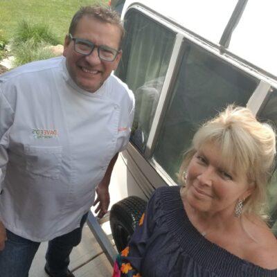 Chef David and Liz